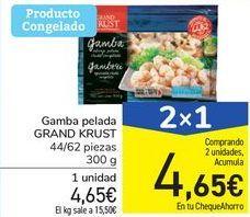 Oferta de Gamba pelada GRAND KRUST por 4,65€