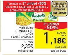 Oferta de Maíz dulce Bonduelle por 2,35€