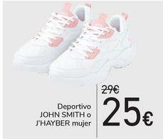 Oferta de Deportivo JOHN SMITH o J'HAYBER mujer  por 25€