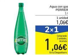 Oferta de Agua con gas PERRIER por 1,06€