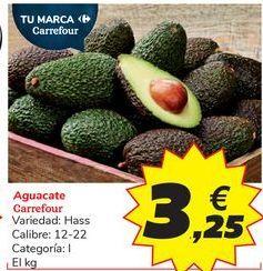 Oferta de Aguacate Carrefour por 3,25€