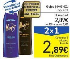 Oferta de Geles MAGNO por 2,89€
