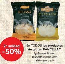 Oferta de En TODOS los productos sin gluten PANCELIAC, iguales o combinados  por