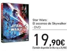 Oferta de Star Wars: El ascenso de Skywalker  por 19,9€