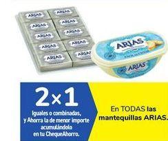 Oferta de En TODAS las mantequillas ARIAS por