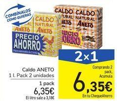 Oferta de Caldo ANETO por 6,35€