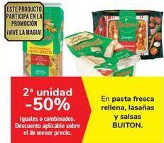 Oferta de En pasta fresca rellena, lasaña y salsas Buitoni  por