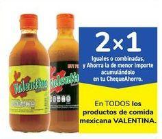 Oferta de En TODOS los productos de comida mexicana VALENTINA por