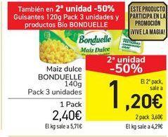 Oferta de Maíz dulce Bonduelle por 2,4€