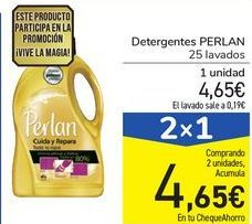 Oferta de Detergente PERLAN por 4,65€