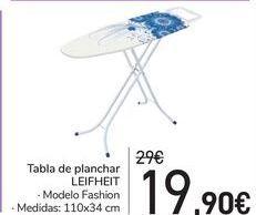 Oferta de Tabla de planchar LEIFHEIT por 19,9€