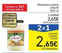 Oferta de Mayonesa casera CALVÉ por 2,65€