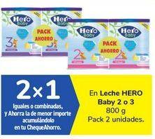 Oferta de En Leche HERO Baby 2 o 3 por