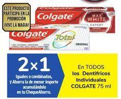Oferta de En TODOS los Dentífricos Individuales COLGATE por