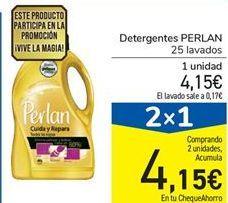 Oferta de Detergente PERLAN por 4,15€