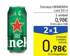 Oferta de Cerveza HEINEKEN por 0,98€