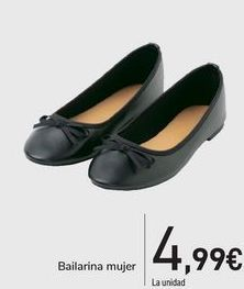 Oferta de Bailarinas mujer  por 4,99€