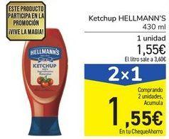 Oferta de Ketchup HELLMANN'S por 1,55€