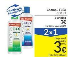 Oferta de Champú FLEX por 3€