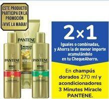 Oferta de En champús dorados y acondicionadores 3 Minutes Miracle PANTENE por