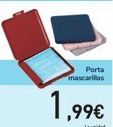 Oferta de Porta mascarillas por 1,99€
