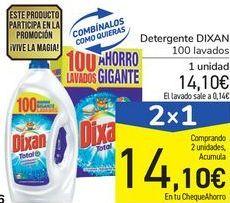 Oferta de Detergente DIXAN por 14,1€
