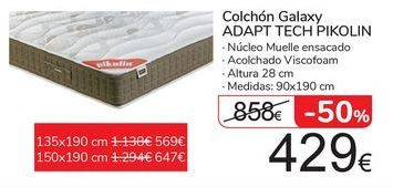 Oferta de Colchón Galaxy ADAPT TECH PIKOLIN  por 429€