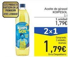Oferta de Aceite de girasol KOIPESOL por 1,79€