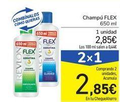 Oferta de Champú FLEX por 2,85€