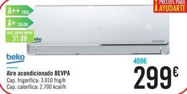 Oferta de Aire acondicionado BEVPA Beko  por 299€