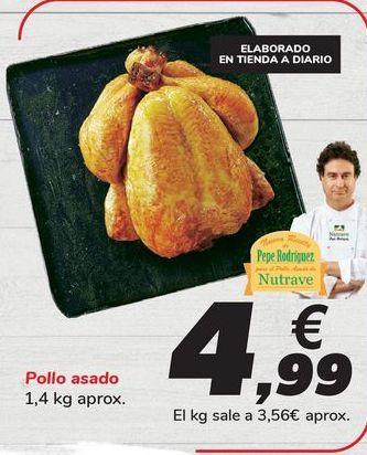 Oferta de Pollo asado por 4,99€
