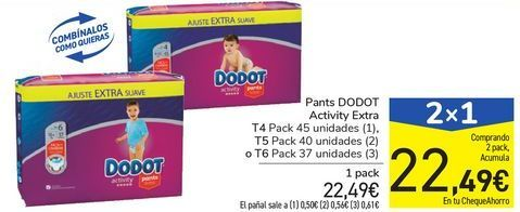 Oferta de Pants DODOT Activity Extra por 22,49€