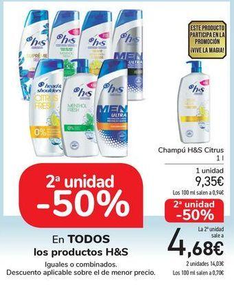 Oferta de En TODOS los productos H&s por