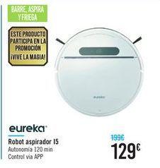 Oferta de Robot aspirador 15 eureka  por 129€
