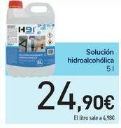 Oferta de Solución hidroalcohólica por 24,9€