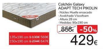 Oferta de Colchón Galaxy ADAPT TECH PIKOLIN  por 429€