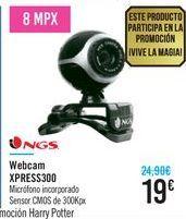 Oferta de Webcam XPRESS300 NGS  por 19€