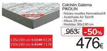 Oferta de Colchón Galerna PIKOLIN  por 476€