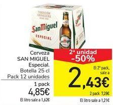 Oferta de Cerveza SAN MIGUEL Especial  por 4,85€