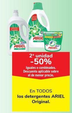 Oferta de En TODOS los detergentes ARIEL Original por