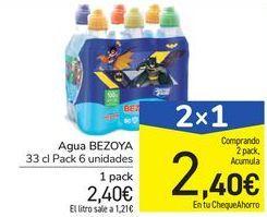 Oferta de Agua BEZOYA por 2,4€