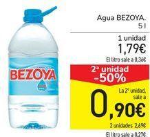 Oferta de Agua BEZOYA  por 1,79€