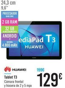 Oferta de Tablet T3 Huawei  por 129€