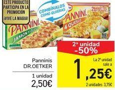 Oferta de Panninis DR.EOTKER  por 2,65€