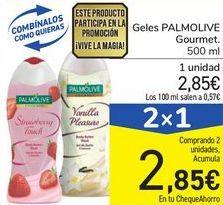 Oferta de Geles PALMOLIVE Gourmet por 2,85€