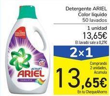 Oferta de Detergente ARIEL Color liquido por 13,65€