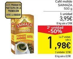 Oferta de Café molido SAIMAZA  por 3,95€