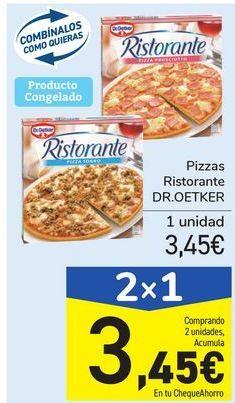 Oferta de Pizzas Ristorante DR.OETKER por 3,45€