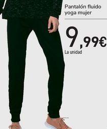 Oferta de Pantalón fluido yoga mujer  por 9,99€