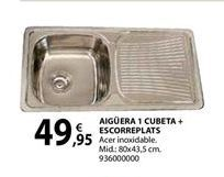 Oferta de Fregadero por 49,95€